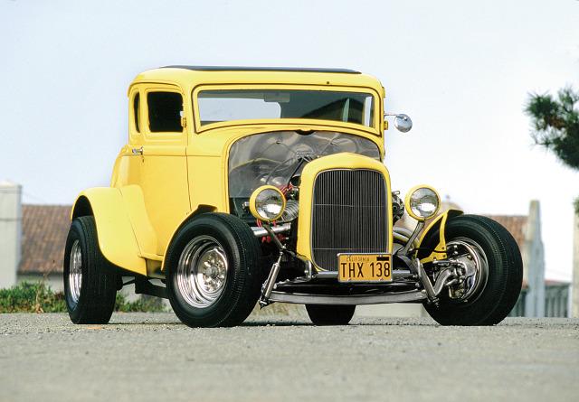 Hot rod to amerykański wynalazek. Nie mógłby narodzić się w kraju, gdzie nie było dużo samochodów. Fot. materiały prasowe