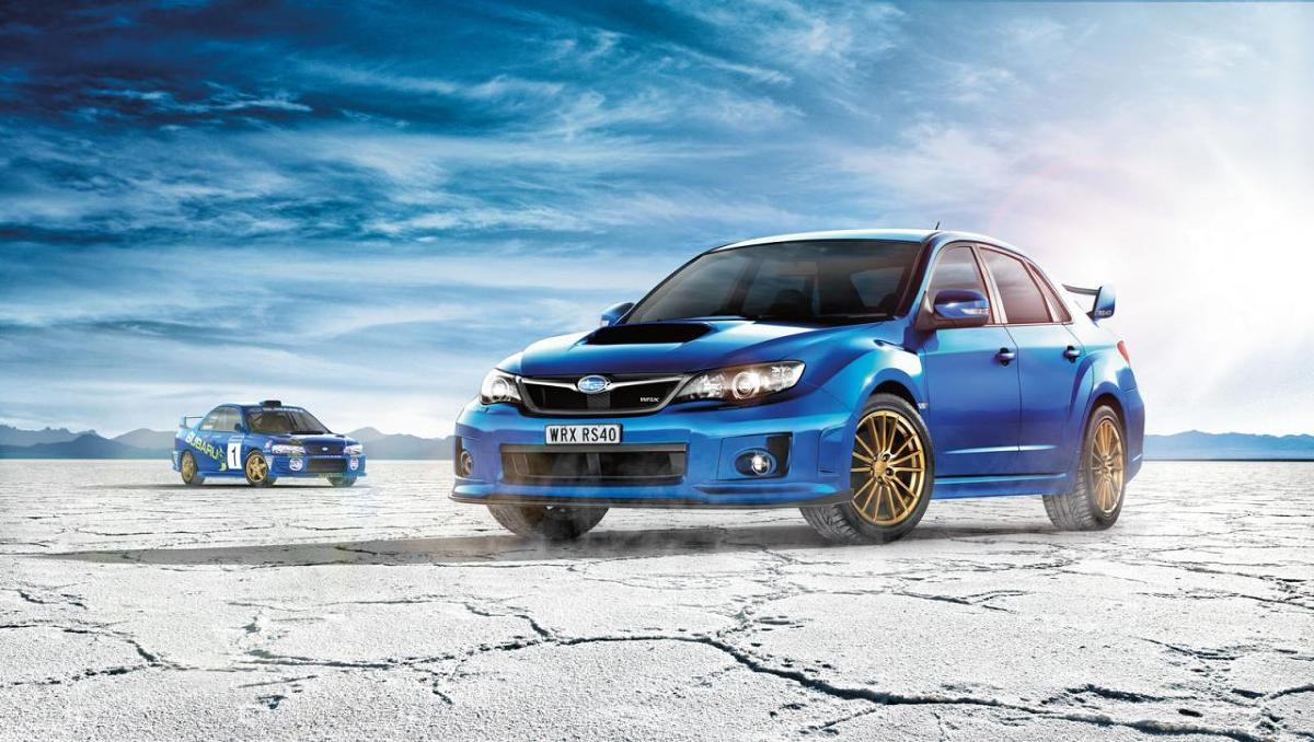 Subaru WRX RS40 / Fot. Subaru
