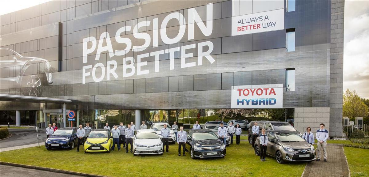 14 kwietnia z taśmy produkcyjnej zjechała 10-milionowa europejska Toyota. Była to Corolla, światowy bestseller i najpopularniejszy model wszechczasów. Kompaktowy sedan jest produkowany w fabryce Toyota Caetano Portugal w mieście Ovar, działającej od 1971 roku. Obecnie powstaje w niej także Land Cruiser 70 eksportowany do Afryki Południowej / Fot. Toyota