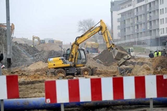 Szczecin: Kolejny etap budowy Trasy Północnej. 3 kilometry dróg w 26 miesięcy