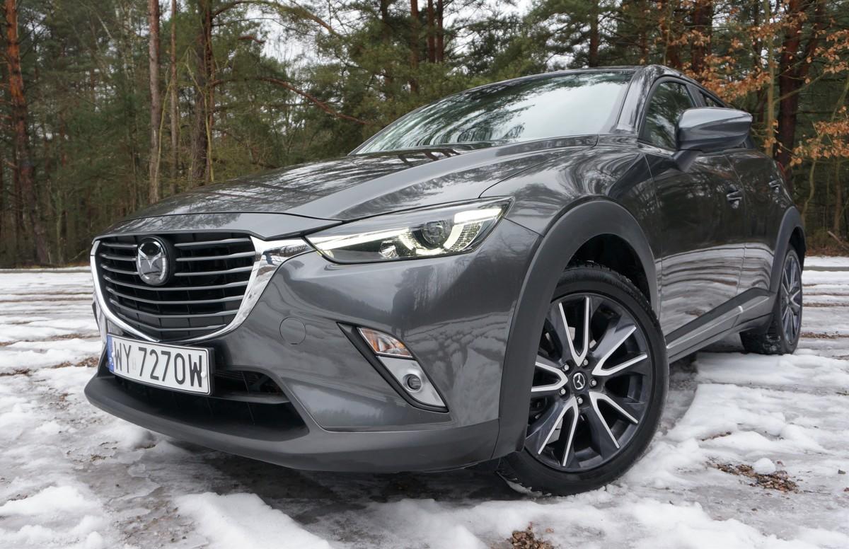Mazda Cx 3 Mały Crossover Dla Lubiących Wyróżniać Się Z Tłumu