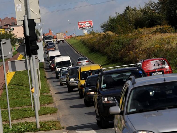 Szczecin: Ruch na ul. Duńskiej jest sparaliżowany przez okoliczne remonty