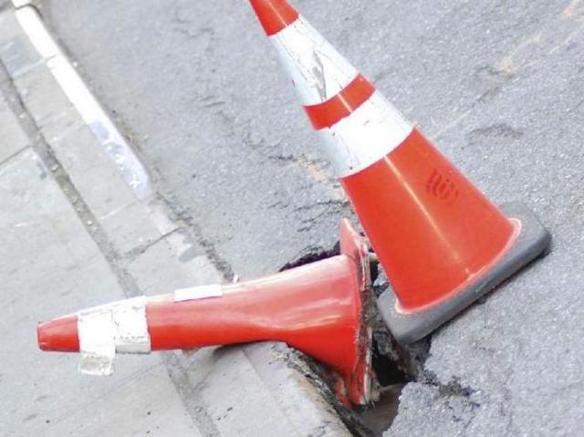 Przejazd drogą 266 przez Odolion wciąż zamknięty
