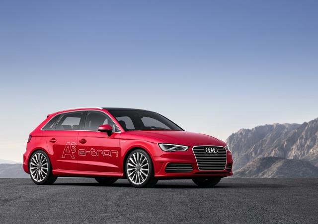 zdjęcie Audi A3 e-tron