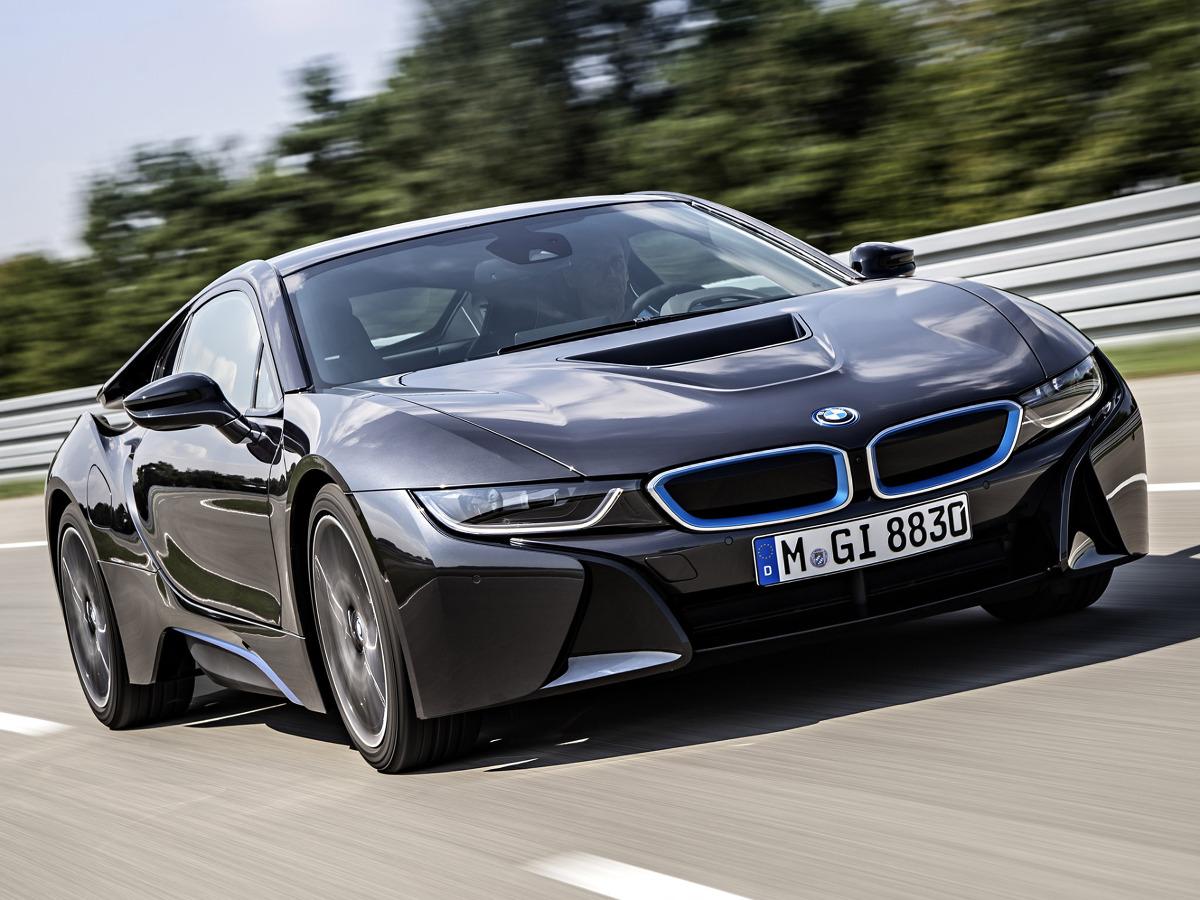 BMW i8 / Fot. BMW