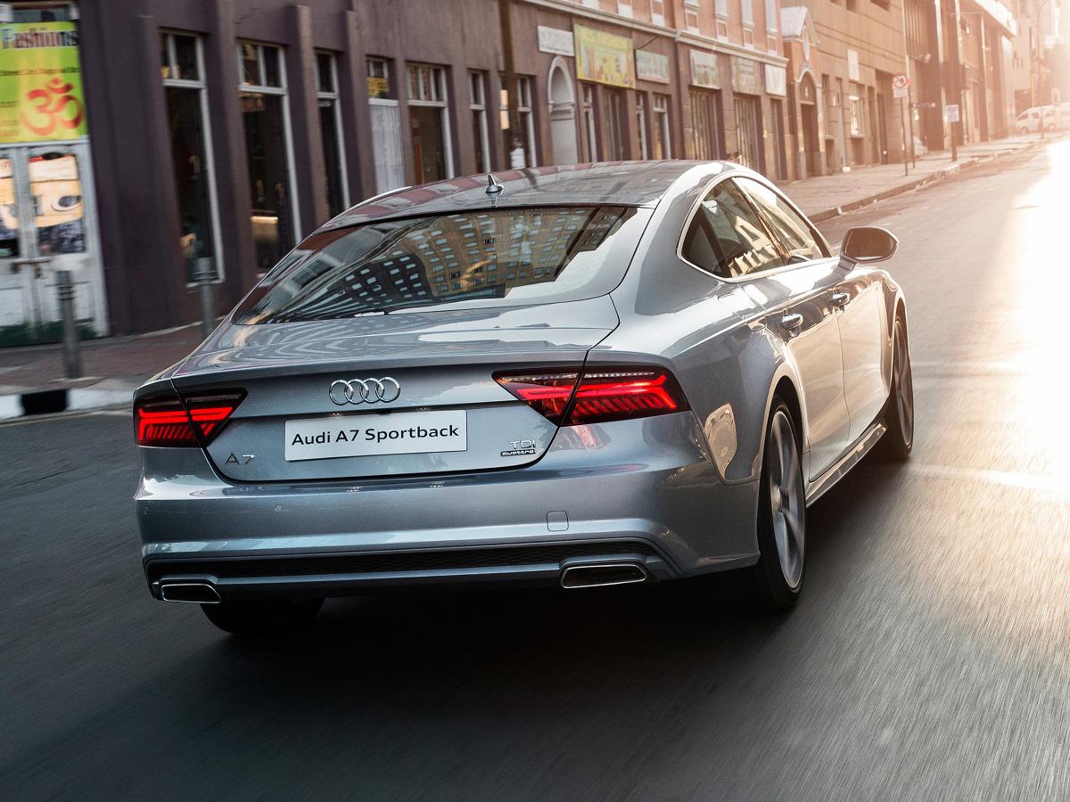 Audi A7 Kontra Porsche Panamera Audi A7 Sportback Fot