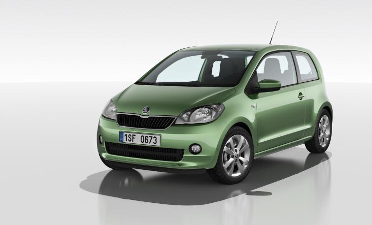 Skoda Citigo - nowe miejskie auto, konkurencja dla Pandy - zdjęcia