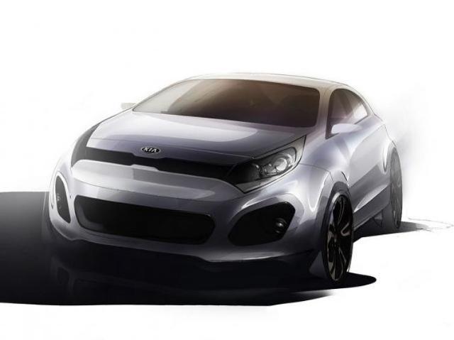 Nowa Kia Rio - zobacz szkice prototypu