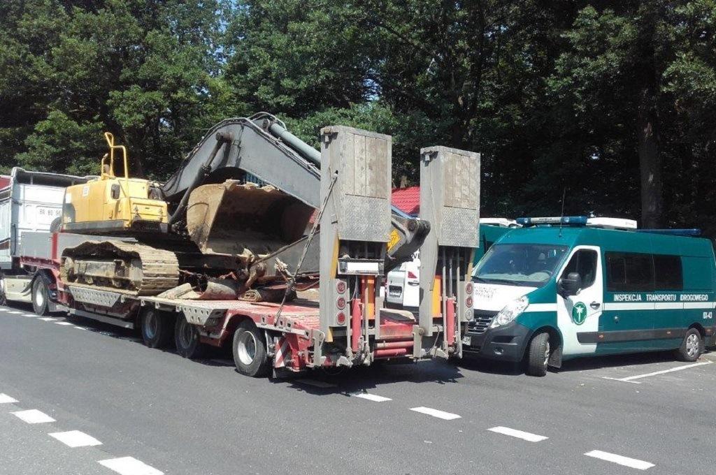 Zupełnie nowe Inspekcja Transportu Drogowego. Kontrola drogowa wagi ciężkiej BE42