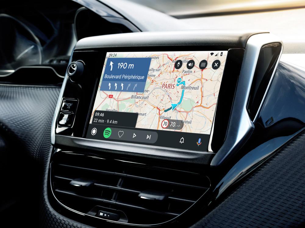 Dla naszych Czytelników, firma TomTom, znany producent nawigacji samochodowych, przygotowała kody rabatowe na TomTom GO Navigation dla naszych czytelników. Dzięki temu teraz można korzystać z nawigacji nie ponosząc żadnych kosztów przez 3 miesiące. Ważną informacją jest też fakt, że aplikacja TomTom współpracuje z Android Auto. Fot. TomTom