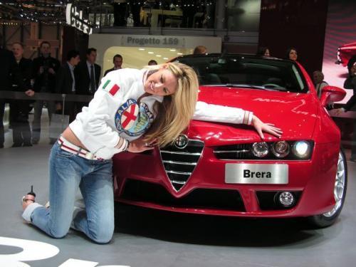 Fot. Ryszard Polit: Alfa Romeo Brera – prawda, że piękna?
