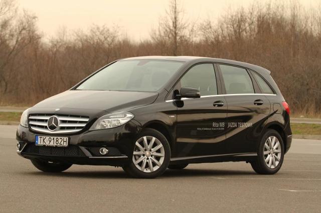 Testujemy: Mercedes-Benz B 180 CDI - oszczędzanie z klasą (film)