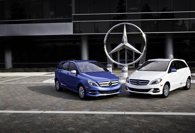 Mercedes B-Class Electric Drive / Fot. Mercedes-Benz