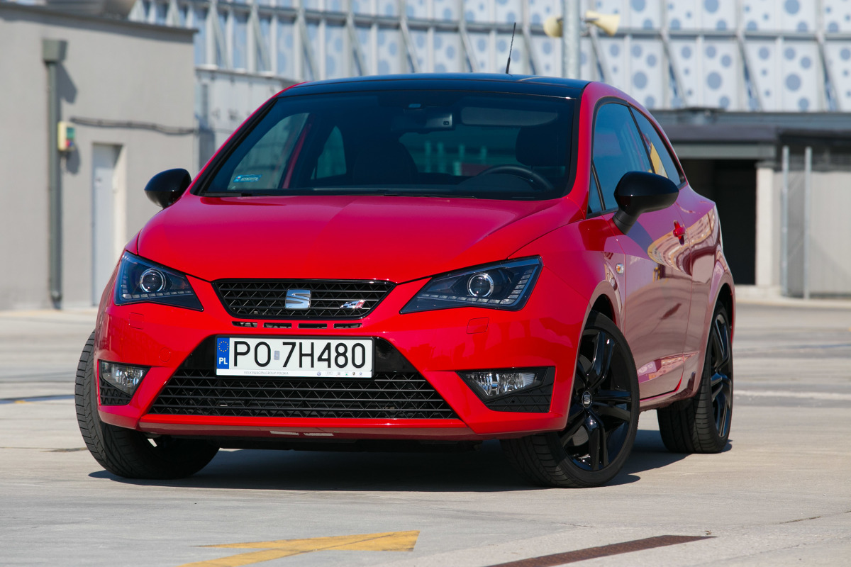 seat ibiza cupra 1 4 tsi test 180 konnego sportowca. Black Bedroom Furniture Sets. Home Design Ideas