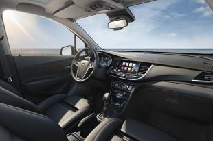 Silnik 1.4 Direct Injection Turbo nowej generacji, o mocy 112 kW/152 KM, zadebiutował niedawno w nowej Astrze. W modelu Mokka X będzie współpracował z sześciobiegową przekładnią automatyczną, systemem Start/Stop i adaptacyjnym napędem na wszystkie koła. Fot. Opel