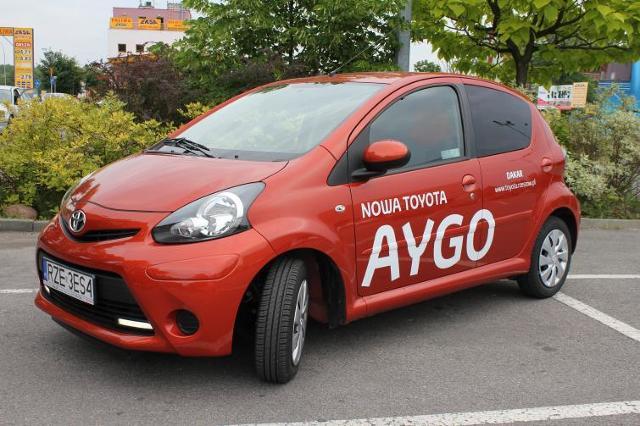 Testujemy: Toyota Aygo Chilli - konkurent Skody Citigo i VW up!