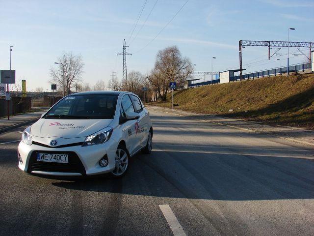 Toyota Yaris Hybrid Fot: Przemek Pepla