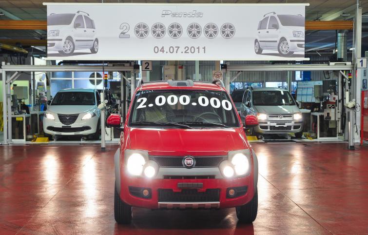Dwumilionowy Fiat Panda opuścił fabrykę w Tychach