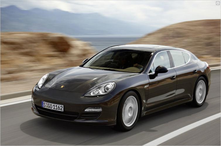 Porsche Panamera z napędem hybrydowym - debut w Genewie