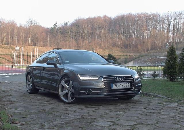 Audi A7 3.0 TFSI / Fot. Wojciech Frelichowski