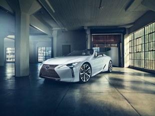Lexus LC Convertible. Kiedy premiera?