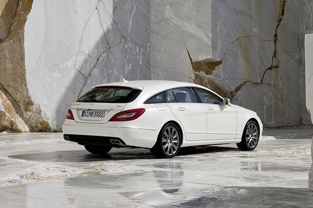 zdjęcie Mercedes CLS Shooting Brake