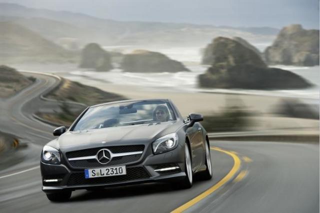 Nowy Mercedes SL - roadster za 430 tys. zł