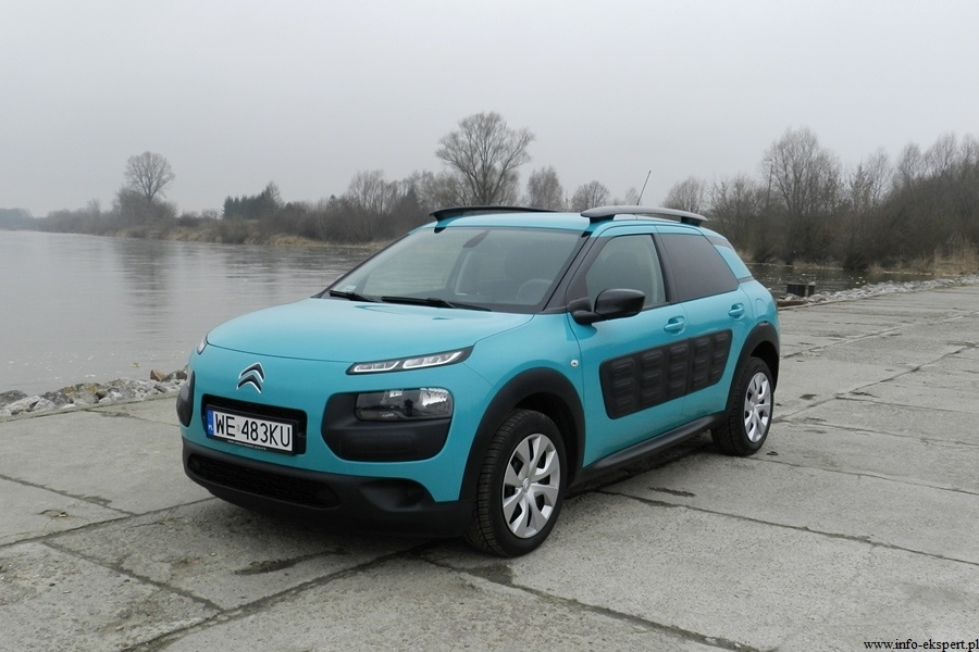 citroen c4 cactus 1 2 test oryginalnego crossovera video. Black Bedroom Furniture Sets. Home Design Ideas