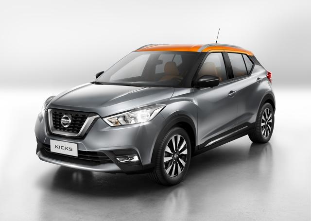 Nissan Kicks   Początkowo auto trafi do brazylijskich salonów sprzedaży w sierpniu tego roku. Samochód będzie rywalizować z takimi autami jak np. Opel Mokka, Suzuki Vitara i Renault Captur.  Fot. Nissan