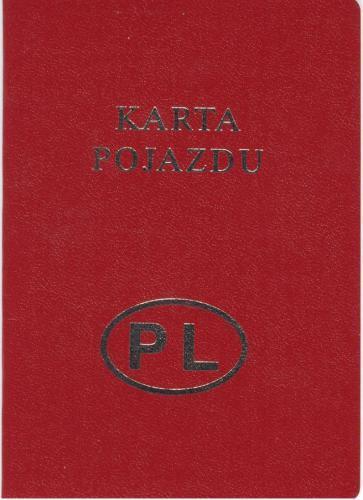 Fot. archiwum: Każdy pojazd po raz pierwszy rejestrowany w Polsce od 1 lipca 1999 roku musi posiadać kartę pojazdu. Jeśli kupujemy nowy samochód kartę pojazdu otrzymujemy razem z nim. Jeśli indywidualnie sprowadzamy samochód z zagranicy, o wydanie karty w
