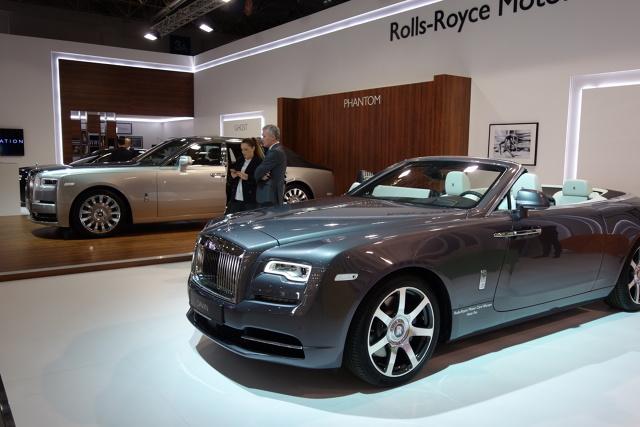 Polska premiera BMW Alpina XD3 i XD4 oraz pierwsza w naszym kraju publiczna prezentacja nowego Rolls-Royce Phantoma – takie atrakcje na stoiskach Rolls-Royce Motor Cars Warsaw oraz Alpina Polska przygotowała firma Auto Fus Group.   Fot. Ryszard M. Perczak