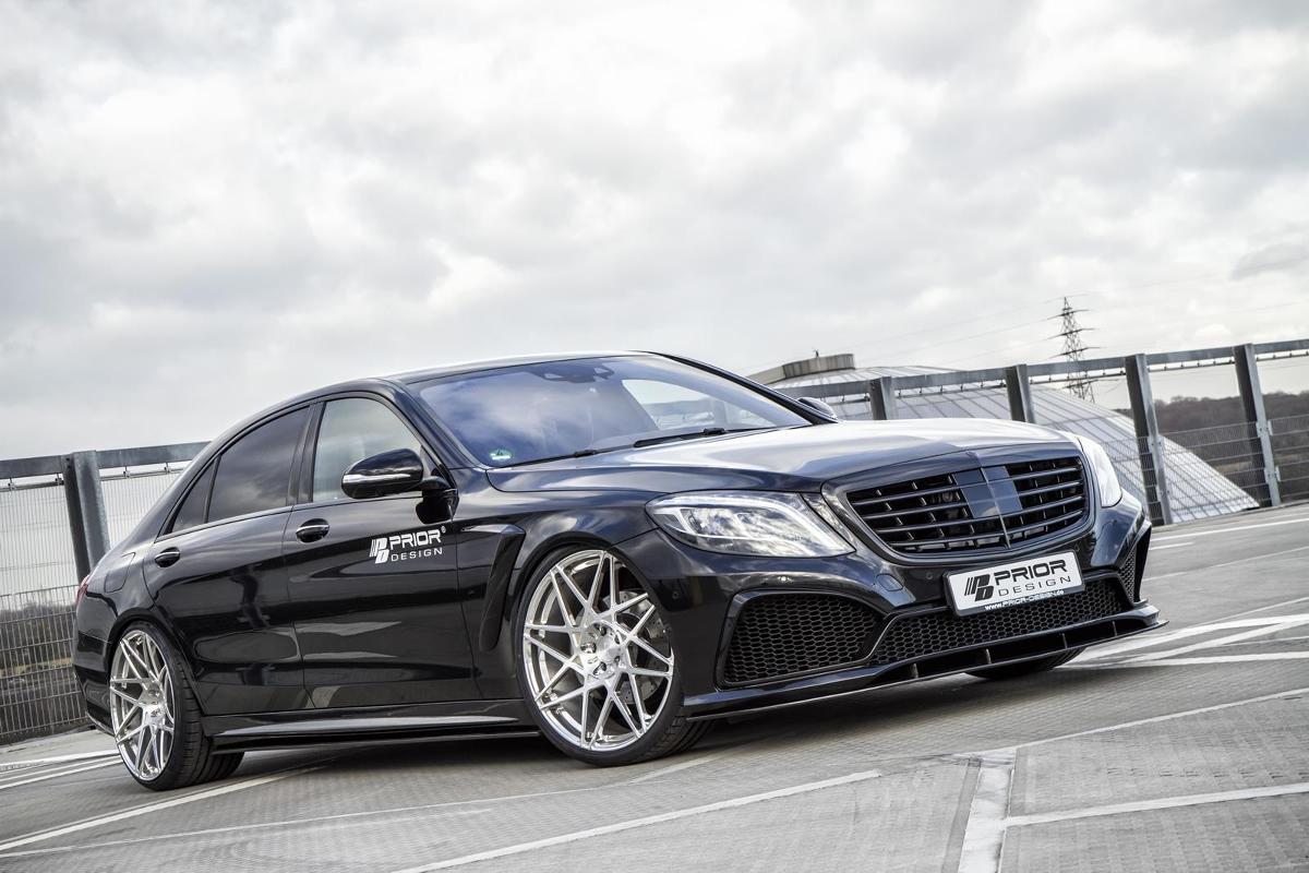 Mercedes Klasy S / Fot. Prior Design