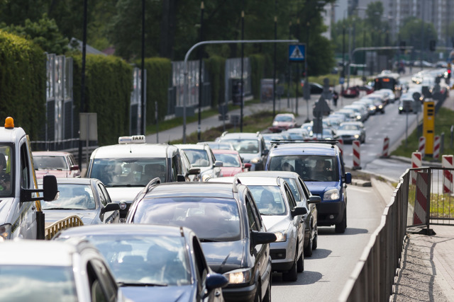 Jakie miasto w Polsce jest najbardziej kolizyjne? W których miejscowościach korki to codzienność? Jakie miasta okazały się najbardziej przyjazne kierowcom? Oto ranking Oponeo opracowany we współpracy z twórcami systemu Yanosik.  Fot. Szymon Starnawski