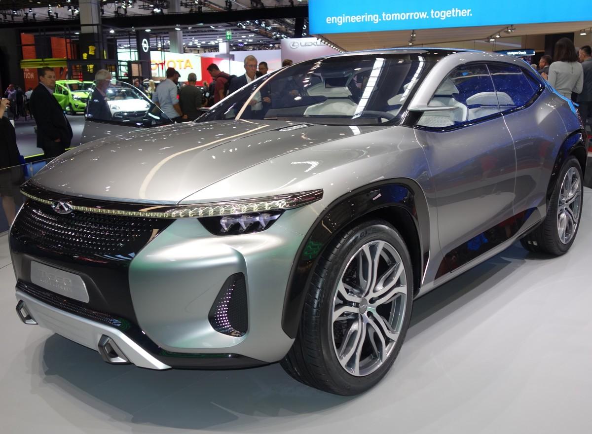 Założone w 1997 r. Chery Automobile urosło do rangi jednego z najważniejszych graczy na chińskim rynku. Pozycję marki potwierdzają modele, które firma zaprezentowała podczas salonu IAA we Frankfurcie.  fot. Ryszard M. Perczak