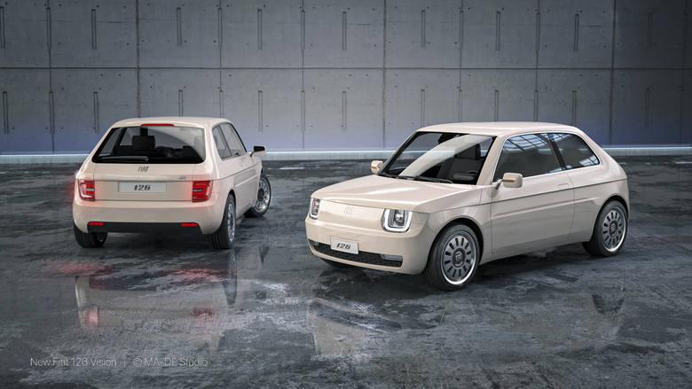 """Każdy zna Fiata 126p, tak zwany """"maluch"""" przez 28 lat był produkowany w naszym kraju. To bez wątpienia legenda motoryzacji, która wciąż -gdy tylko pojawia się na drodze- wywołuje miłe wspomnienia.   Fot. Made Studio / materiały prasowe"""