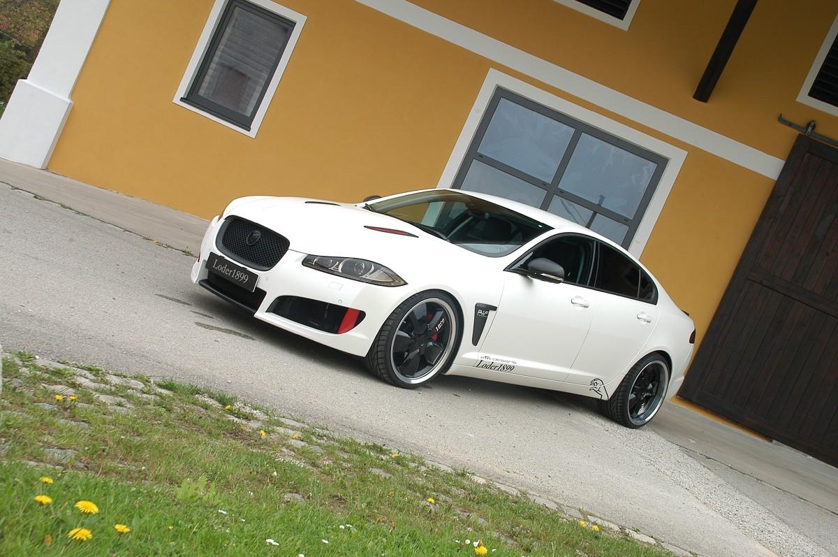 Loder1899 Jaguar XF Fot: Loder1899