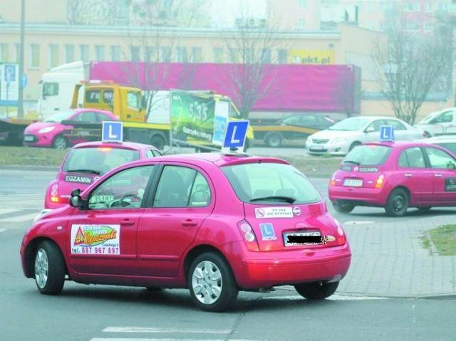 Egzaminy na prawo jazdy zdają prawdziwie tłumy