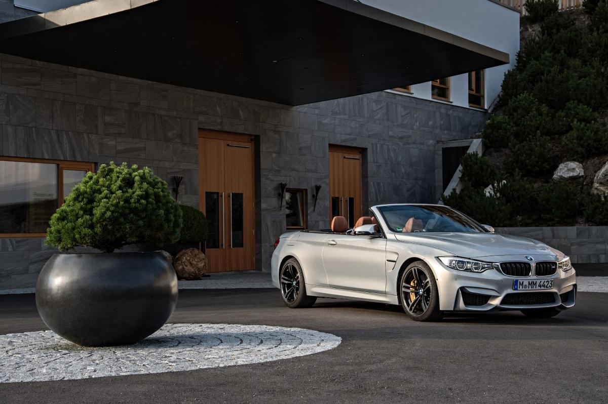 BMW M4 Cabrio / Fot. BMW