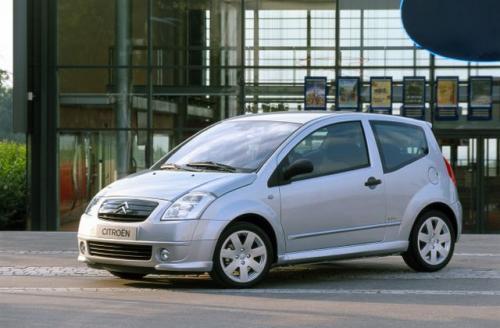 Fot. Citroen: Citroen C2 to oryginalny, miejski samochód wykorzystujący skróconą płytę podłogową modelu C 3.