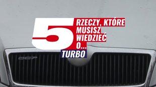 Jak dbać o turbosprężarkę? Jak eksploatować auto z turbo?