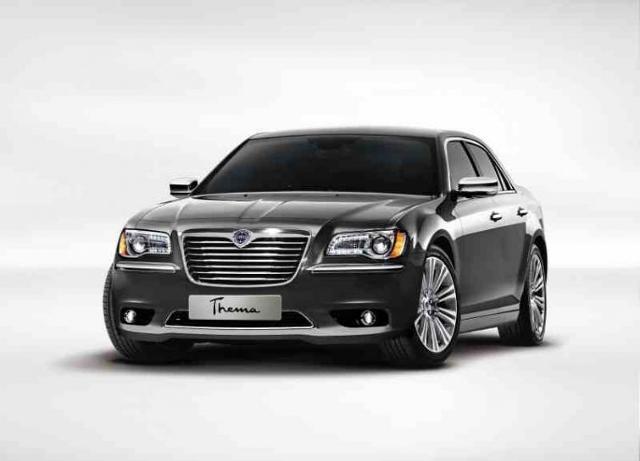 Nowa Lancia Thema wygląda jak Chrysler 300C