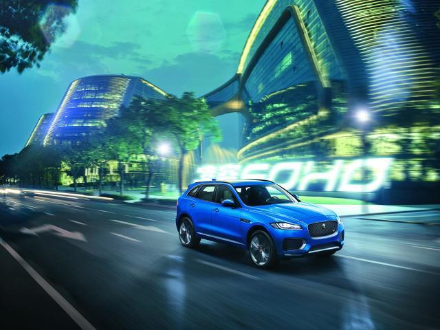 zdjęcie Jaguar F-Pace