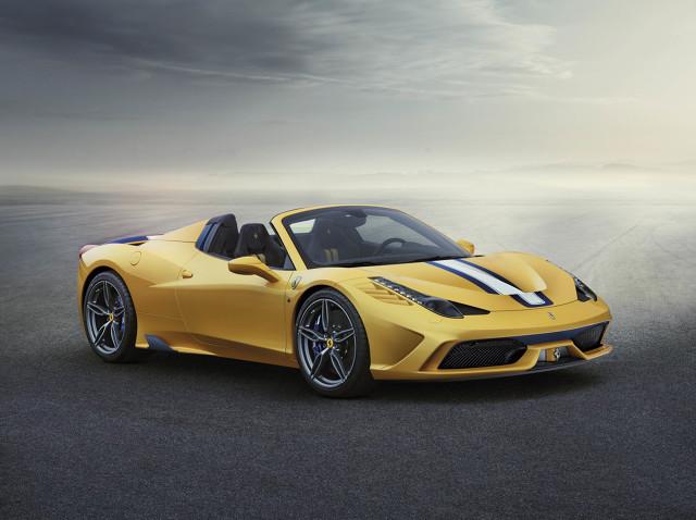 Ferrari 458 Speciale  Cena od: 233 tys. euro silnik/moc: 4.5 V8/605 KM   Fot. Ferrari