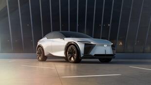 Lexus. Elektryczne Lexusy 2022