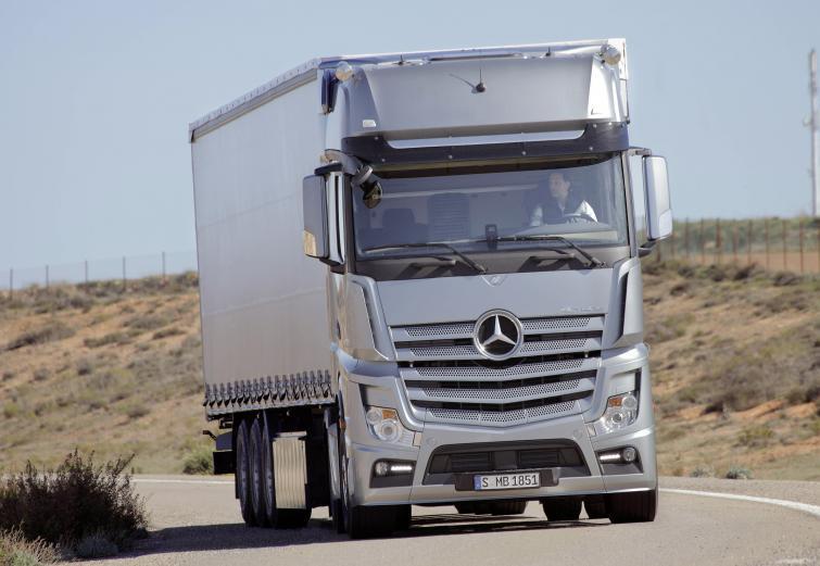 Nowy Mercedes Actros - produkcja rusza od września