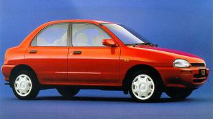 Mazda 121 II (1990 - 1996) Sedan