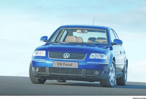 Fot. VW: Passat to duża limuzyna z zachowawczą stylistyką w typowo niemieckim stylu. Używane egzemplarze kosztują dużo w porównaniu do innych aut tej klasy