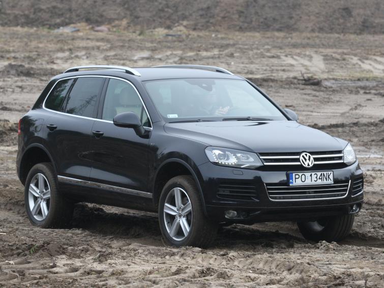 Testujemy: VW Touareg – błoto i piach mu niestraszne