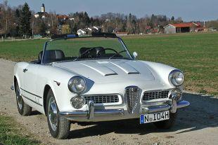 Alfa Romeo 2000 I (1958 - 1961) kabriolet