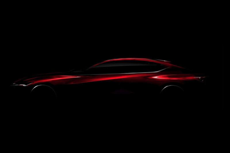 Japończycy nie przedstawili wielu szczegółów.  Nie jest potwierdzone, czy auto ma szansę w przyszłości wejść do produkcji. Na konkrety musimy jednak jeszcze poczekać, ale pod sercem pojazdu prawdopodobnie będzie układ hybrydowy / Fot.  Acura
